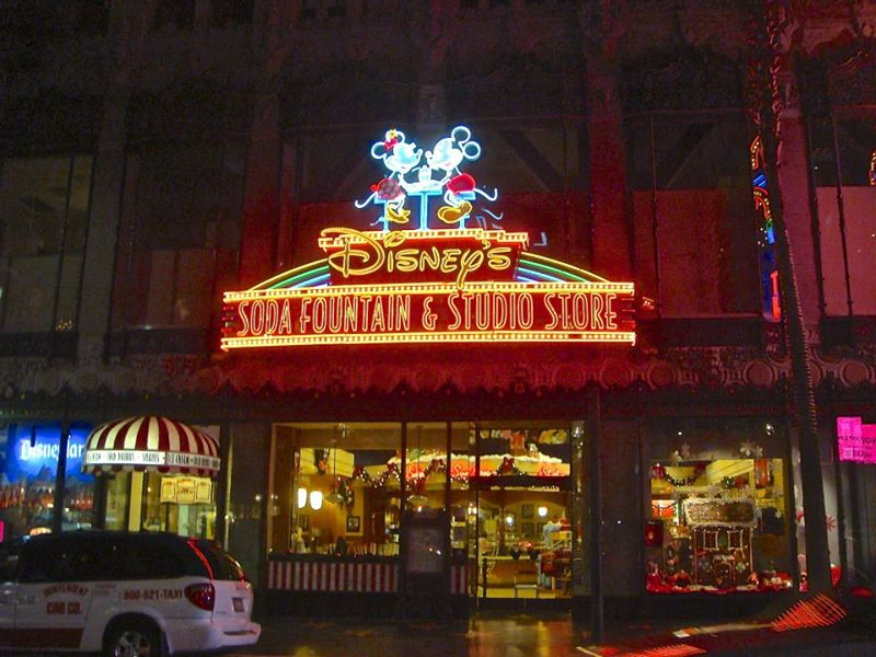 Disney's Soda Fountain at El Capitan Theatre